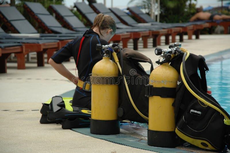 Mergulhador fotos de stock