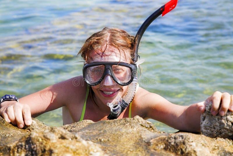 Mergulhador imagens de stock