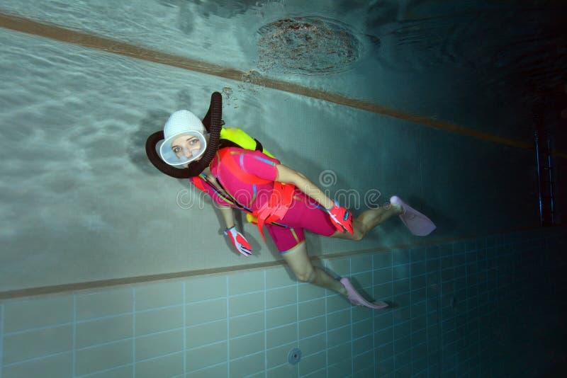 Mergulhador de mergulhador imagem de stock royalty free