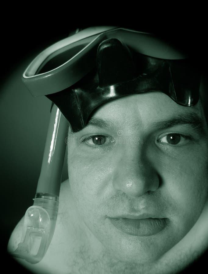 Mergulhador III foto de stock royalty free