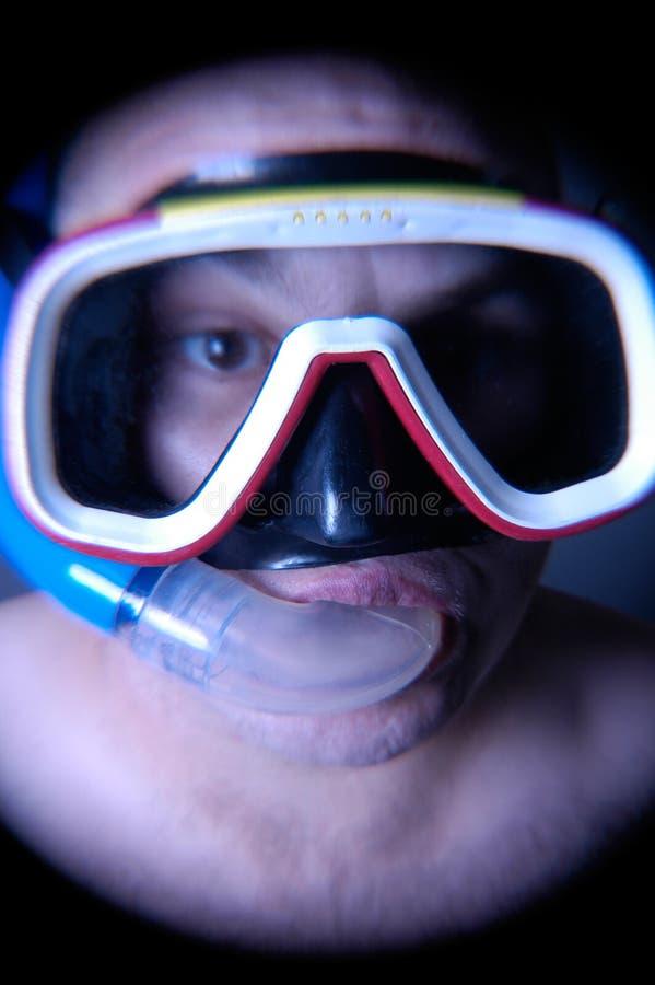 Mergulhador IV fotografia de stock royalty free