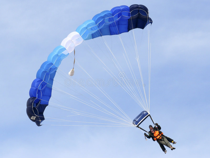 Mergulhadores do céu fotografia de stock royalty free