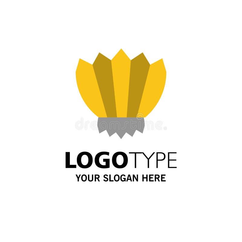 Mergulho, aletas, aletas, oceano, negócio exterior Logo Template cor lisa ilustração royalty free