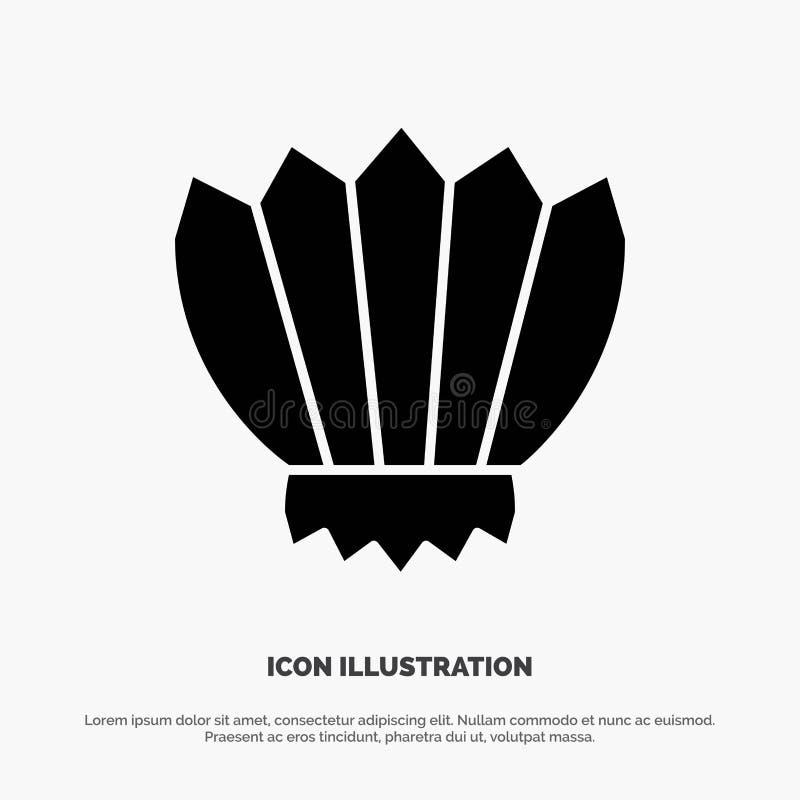 Mergulho, aletas, aletas, oceano, vetor contínuo exterior do ícone do Glyph ilustração do vetor