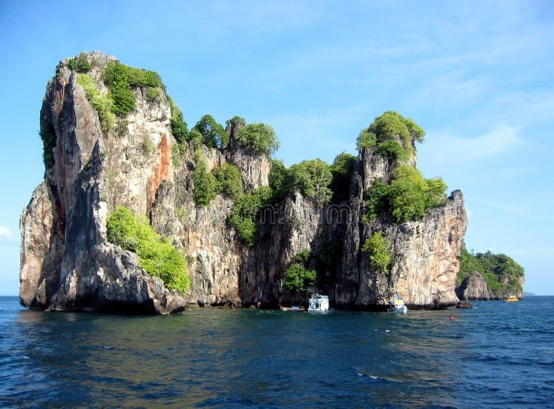 Mergulho em Tailândia foto de stock royalty free