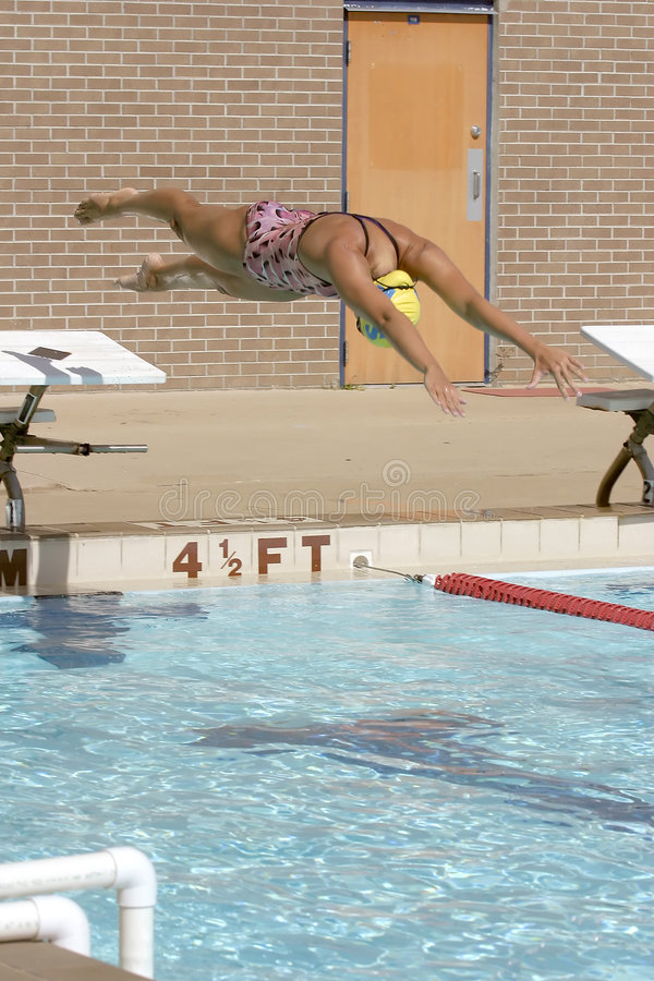 Mergulho, mergulho, mergulho imagens de stock royalty free