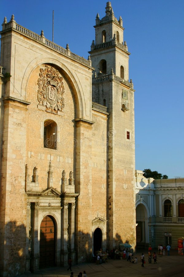 Download Merida cathedral stock photo. Image of cathedral, stones - 105006