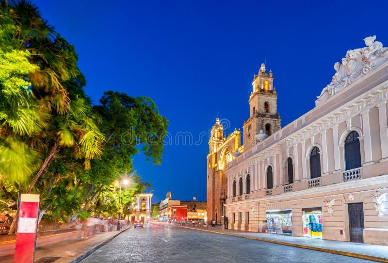 Merida, Yucatan - México imagem de stock