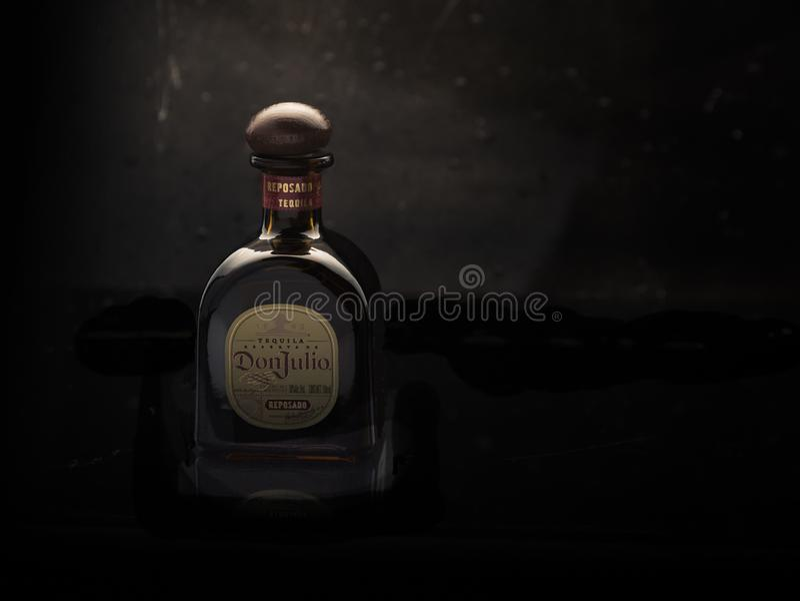 MERIDA-YUCATAN-MEXIKO-NOVEMBER-2018: Tequila Don Julio, einer von den berühmtesten in Mexiko stockfoto