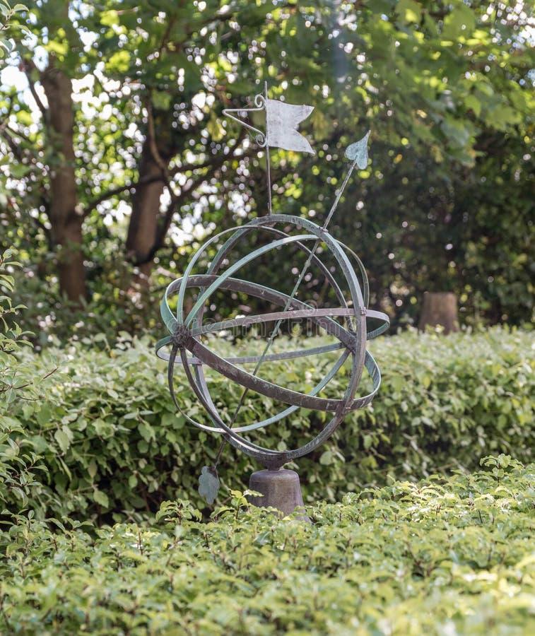Meridiano principal Greenwich, Londres, Reino Unido foto de stock