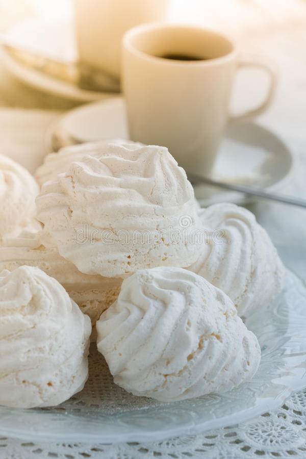 Download Meringues stock photo. Image of french, eating, vertical - 27480286