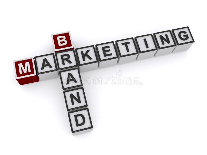 Merk marketing rubriek royalty-vrije stock foto