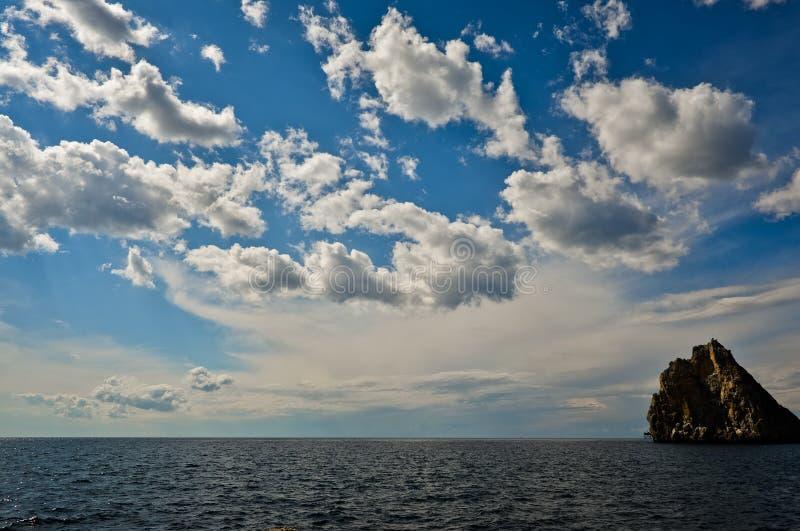 Merk mening aan Simeiz royalty-vrije stock afbeeldingen