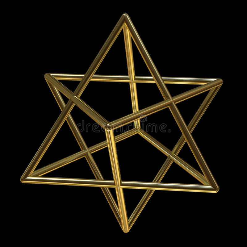 Merkaba illustration libre de droits