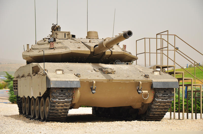 Merkava-4. royalty free stock photography