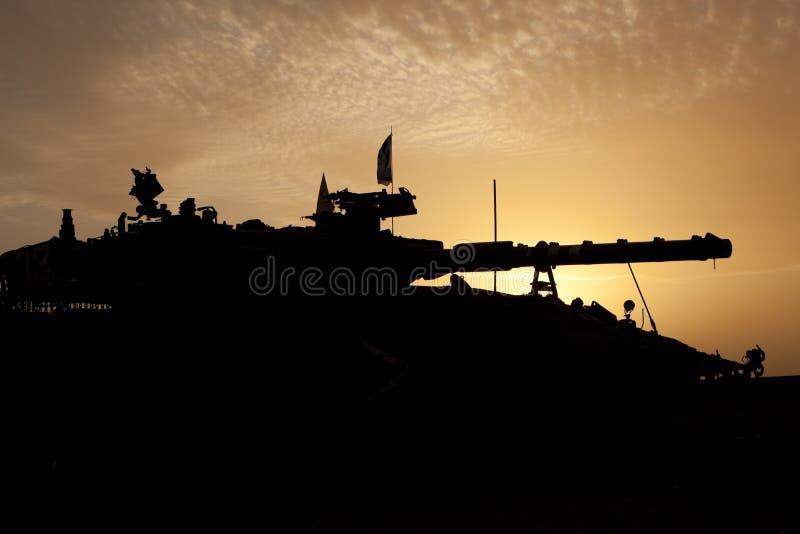 Merkava M 4 Baz Hauptpanzer lizenzfreies stockbild
