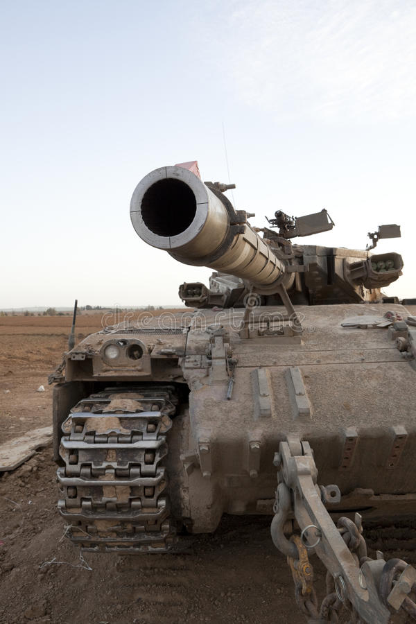Merkava Mk 4 Baz Main Battle Tank Stock Images