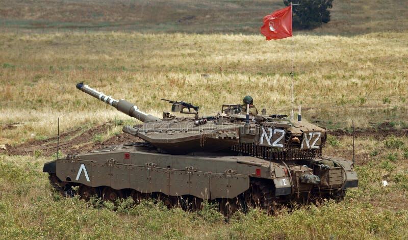 Merkavamk III tank royalty-vrije stock afbeelding