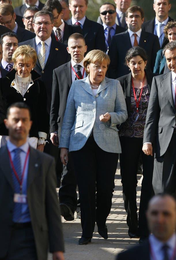 Merkel 034 imágenes de archivo libres de regalías