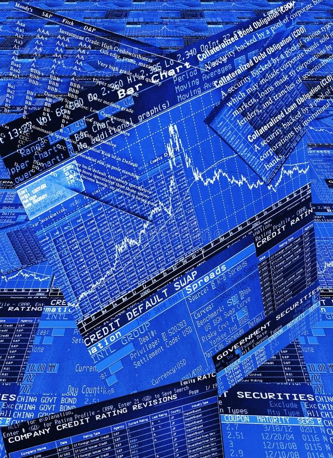 Merkgebonden handelbureau vector illustratie