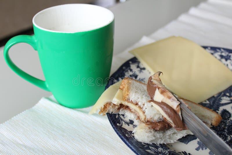 Merkwürdige Lebensmittelkombination - süß und salzig stockfoto