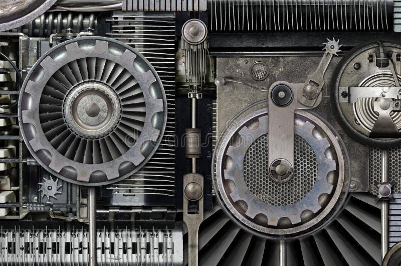 Merkwürdige Maschine lizenzfreie stockfotografie