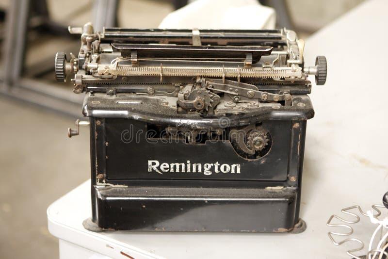 Merkwürdige Remington-Maschine lizenzfreie stockfotos