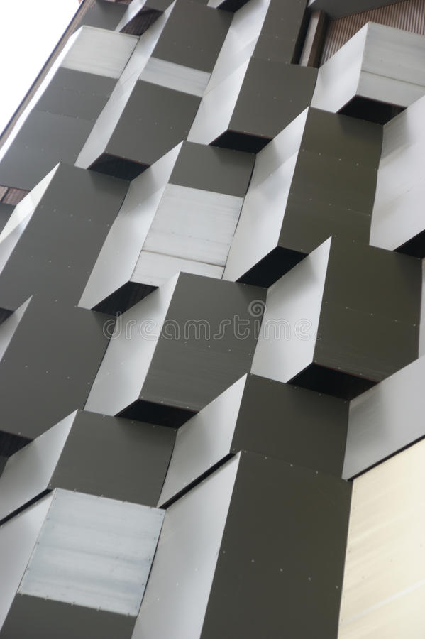 Merkwürdiges Gebäude lizenzfreie stockfotos