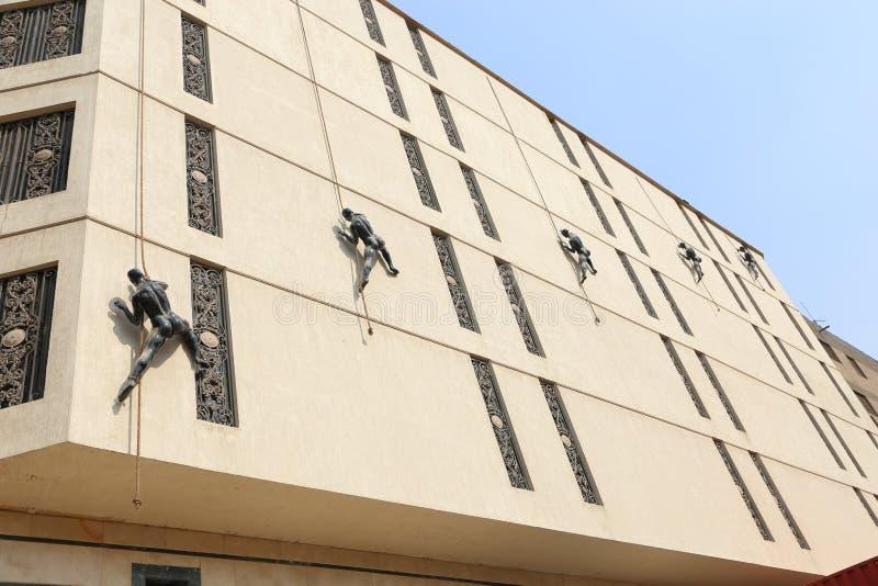 Merkwürdiges Gebäude stockfotos