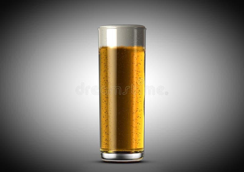 Merkw?rdiges Bier-halbes Liter lizenzfreie abbildung