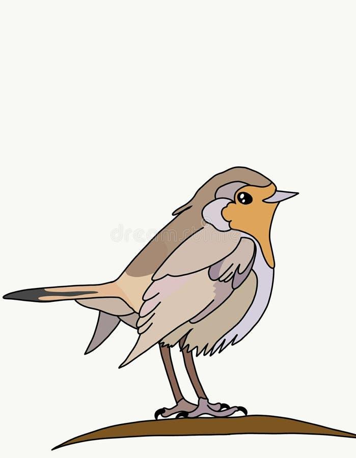 merle d'oiseau illustration libre de droits