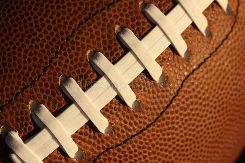 Merletti di gioco del calcio immagine stock libera da diritti