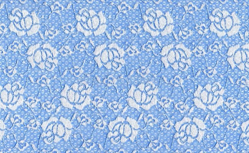 Merletto blu immagini stock