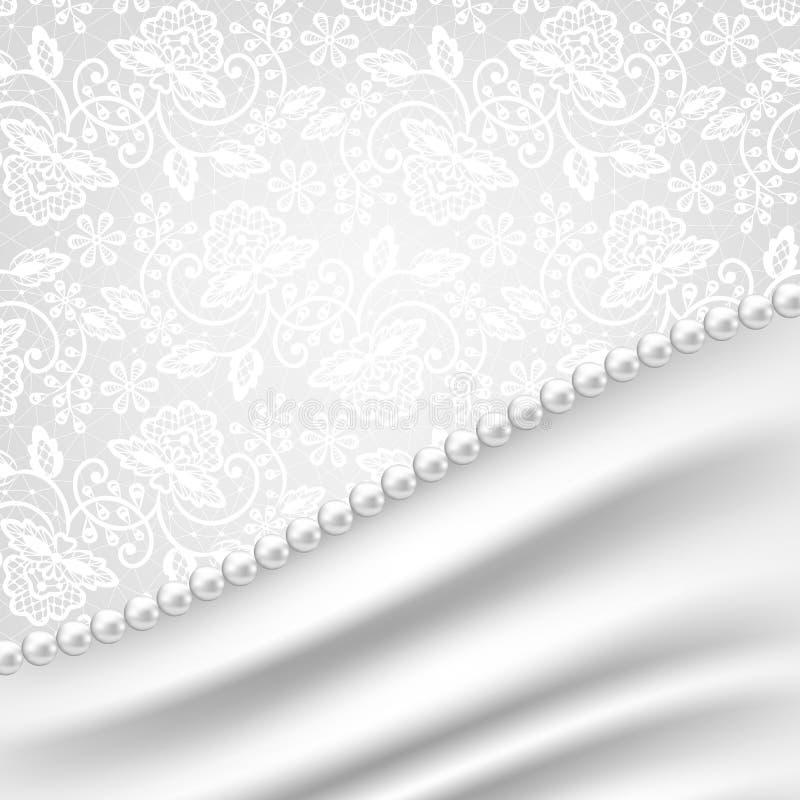Merletto nero a macroistruzione sotto vetro dentellare illustrazione vettoriale