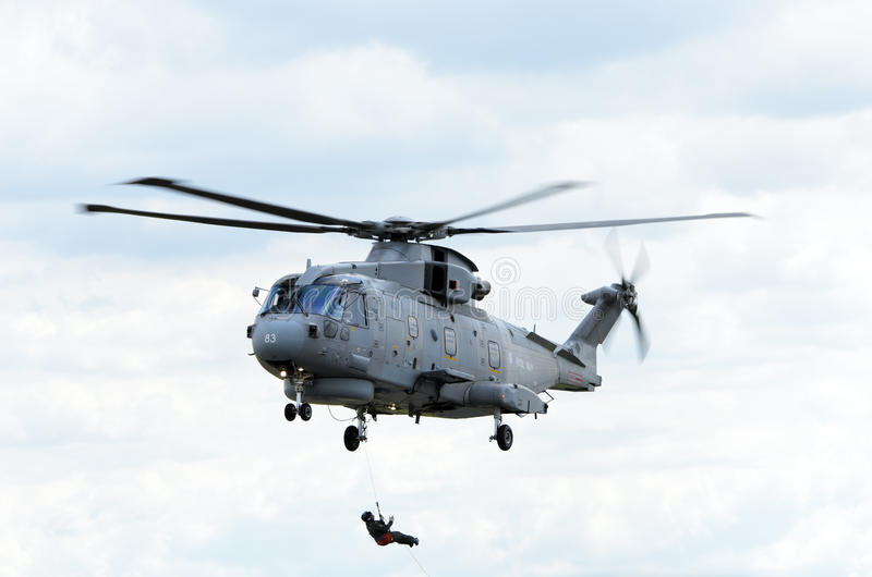 Download Merlin HM1 editorial stock image. Image of merlin, military - 20303289
