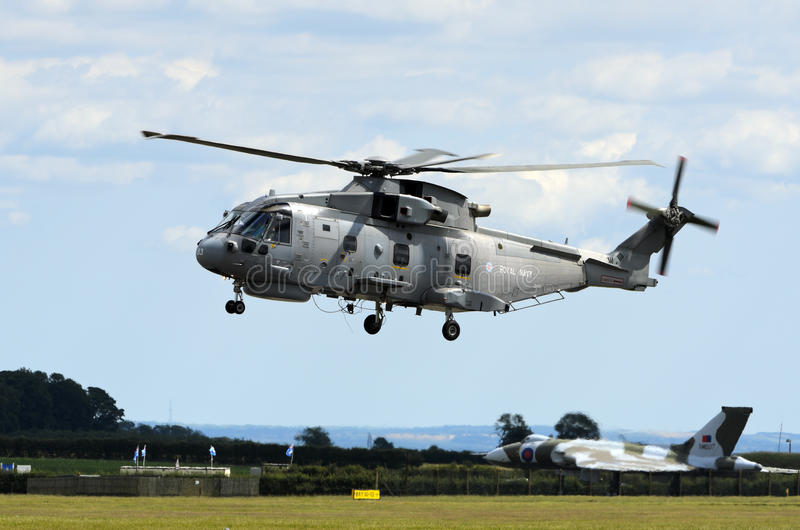 Download Merlin HM1 editorial stock photo. Image of royal, aviation - 20400823