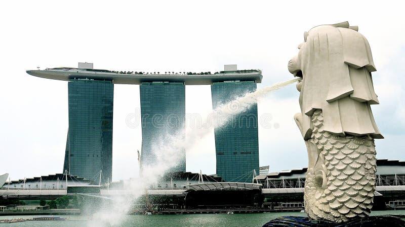 merlion新加坡 免版税库存照片