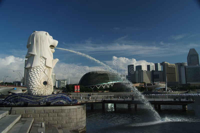 Merlion royalty free stock photo