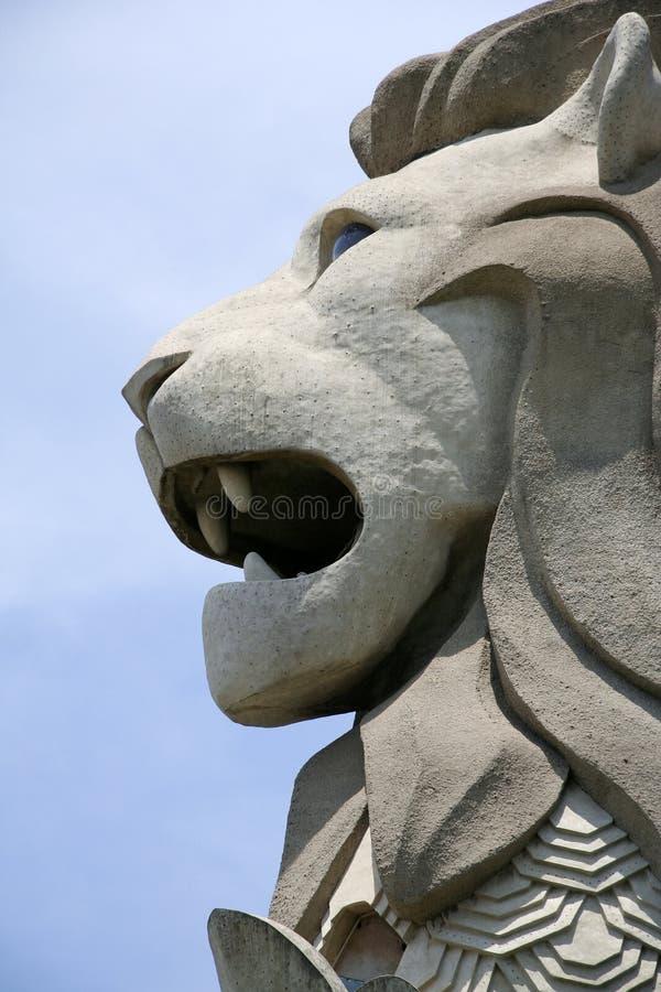 Merlion de Singapour photo stock