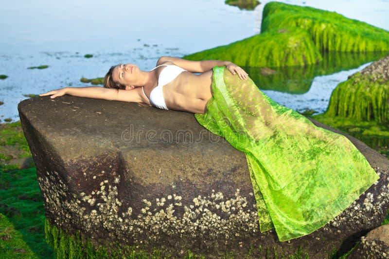 Download Mermaid stock image. Image of female, modern, model, dream - 13260701