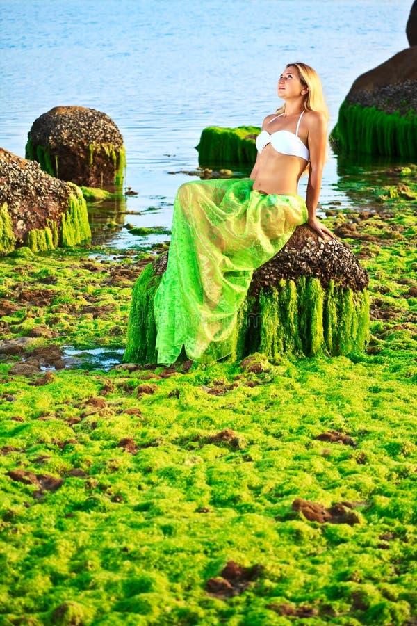 mermaid royaltyfria foton