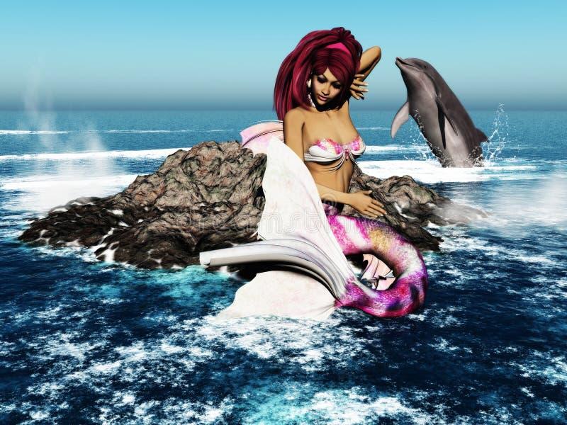 mermaid 2 иллюстрация штока
