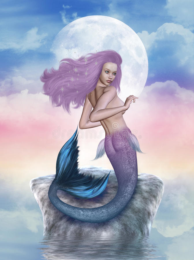 Download Mermaid Stock Photography - Image: 21014422