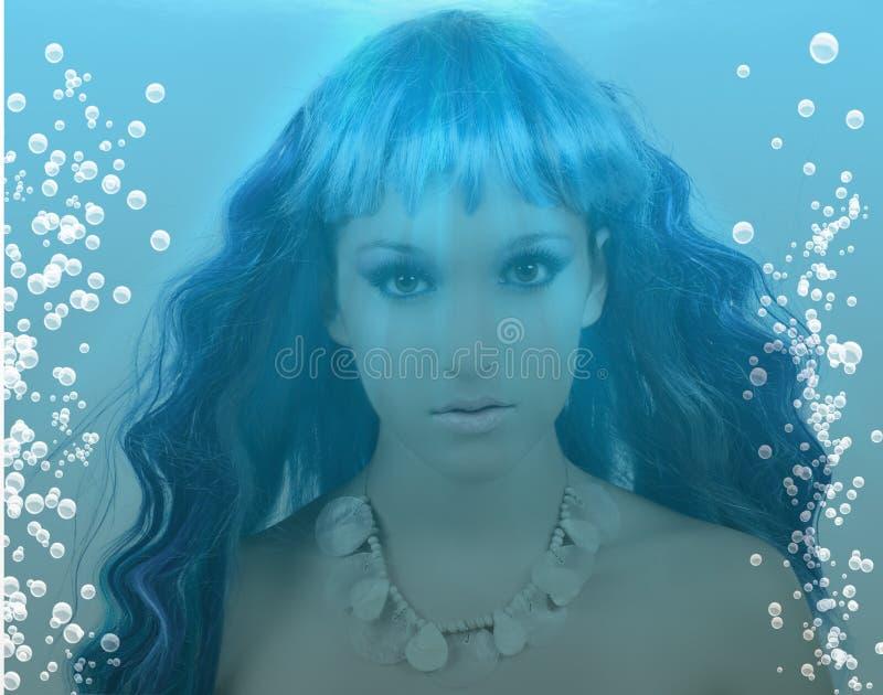 mermaid royaltyfri foto