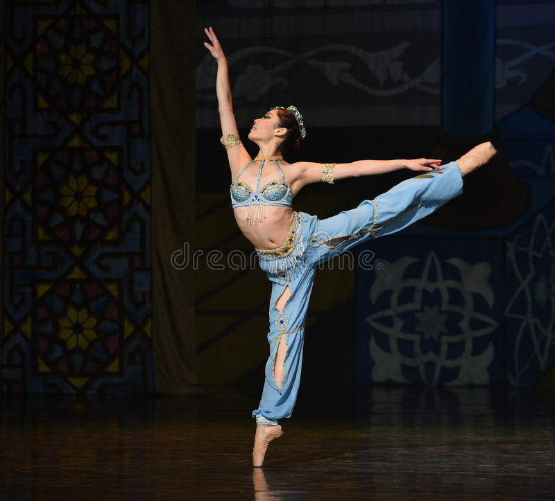 "Mermaid- ballet ""One Thousand and One Nights"" stock photo"