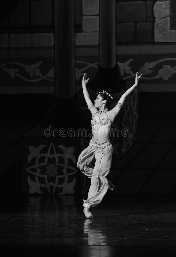 "The mermaid - ballet ""One Thousand and One Nights"" stock image"
