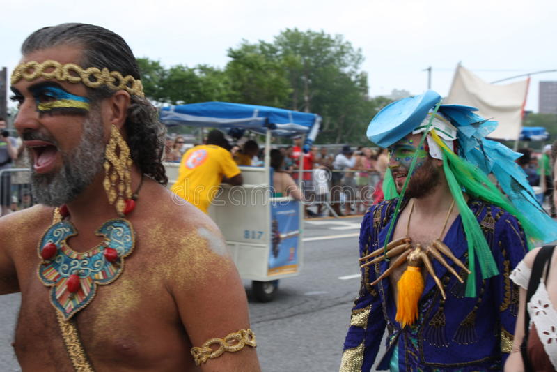 Download Mermaid Parade 2011 In Brooklyn Editorial Image - Image of avenue, 2011: 19969225