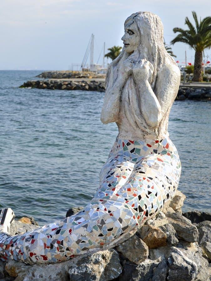Free Mermaid Statue On The Island Of Buyukada Royalty Free Stock Photos - 79889208