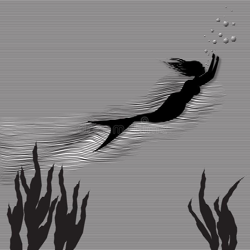 Download Mermaid Stock Illustration - Image: 83721468
