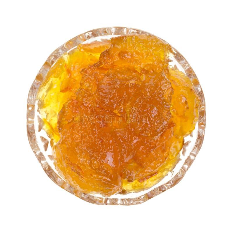 Mermelada anaranjada foto de archivo libre de regalías